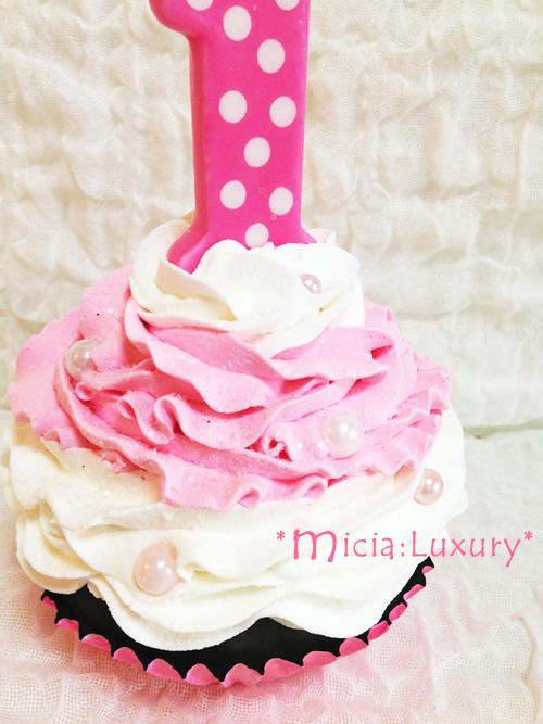 飾り用フェイクデコレーションカップケーキ