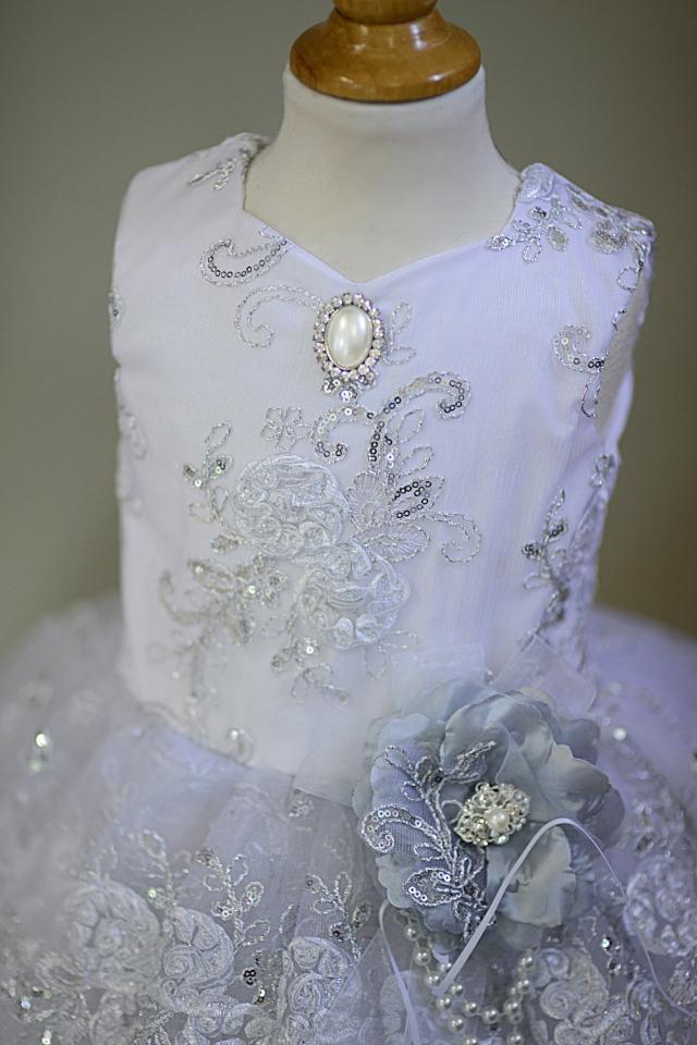 きらめく光のドレス「Glitz Sparkle and Light Girls Dress」1歳から10歳
