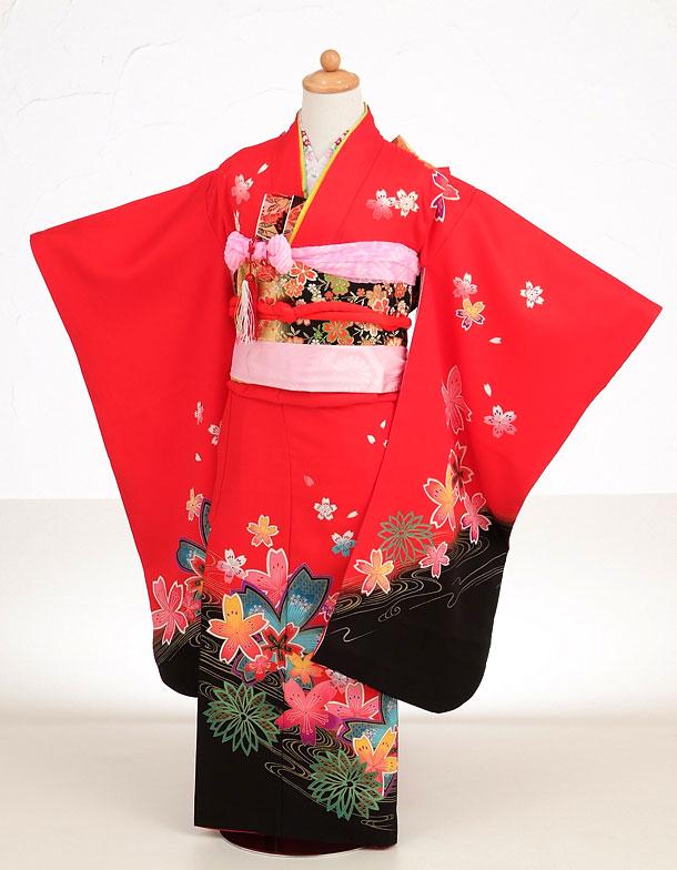 赤×黒 桜