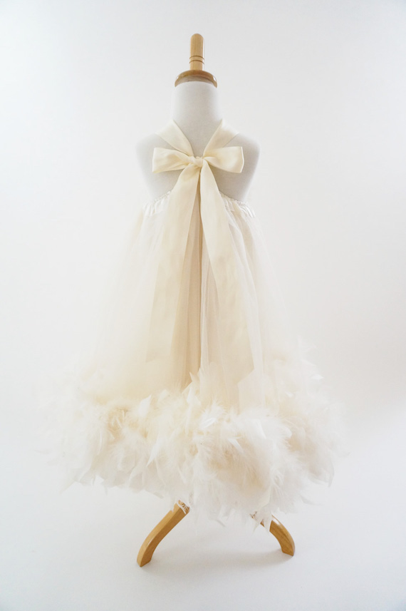 小さなお姫様のフラワーガールドレス 「Little Miss Princess Flower Girl Dress」
