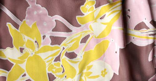 シルクシフォン☆花柄ピンクワンピース6months-6才【EUデザイナーから直送】【送料込】