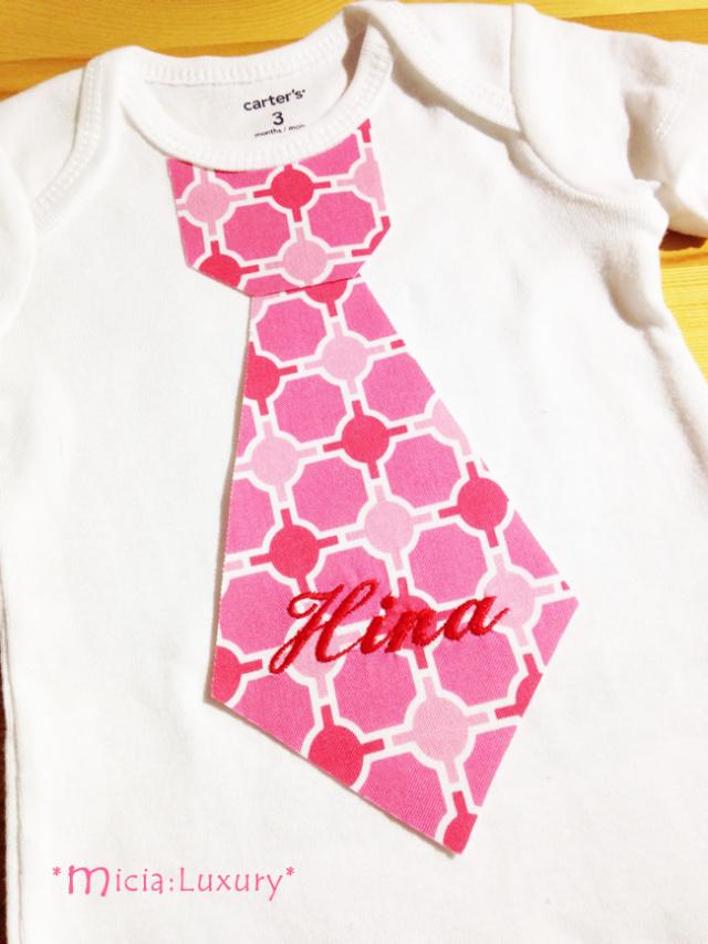 名入れロンパースTシャツ micia