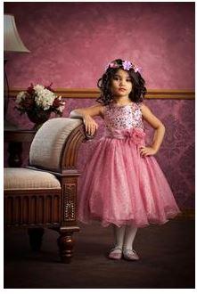 チュールスカートドレス