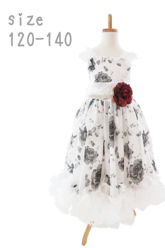 スウィートローズ フェザードレス 「Sweet Roses Girls Feather Dress」