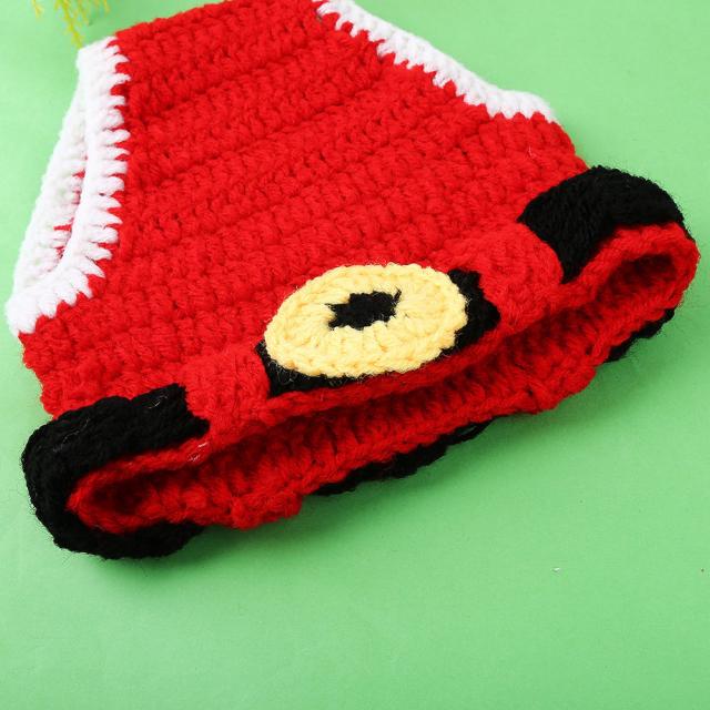 かわいいサンタに大変身★かぎ針編みのサンタクロースコスチュームセット