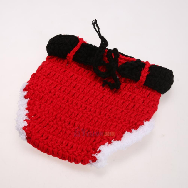 小さなサンタさん★かぎ針編みのサンタクロースコスチュームセット
