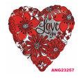 バレンタインのプレゼントにぴったり♪他のバルーンと組み合わせても素敵☆バレンタインデーフラワリングラブユー♪【15L】