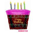 ハッピーバースデー!ケーキが風船に♪バースデーケーキウィズ【36L】♪お誕生日は風船でいっぱいに!!