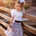 クラシック フォーエバー ドリーミング「Classic Forever Dreaming Girls Feather Dress」1歳から6歳