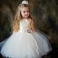 ホルターネックのバレリーナプリンセスチュチュドレス「Halter Style Ballerina Princess Tulle Dress」1歳から10歳