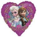 アナと雪の女王バルーン☆風船☆プレゼント・パーティー・記念撮影にも最適♪ディズニーフローズン♪ハート型!