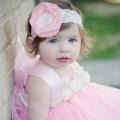 ピンクディライト チュチュロゼットドレス「Pink Delight Tutu Rosette Dress」1歳から4歳