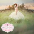 夢のヴィンテージプリンセスチュチュドレス「Princess Vintage Elegant Dreamy Tutu Dress」1歳から12歳