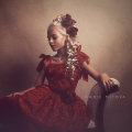 赤い薔薇のヴェネツィアレースのドレス「Red Rose Venice Girls Lace Dress」3歳から10歳