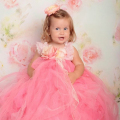 スウィートパリピンク チュチュドレス「Sweet Paris Pink Tutu Dress」0歳から6歳