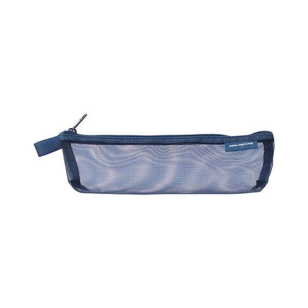 [Limited] Mesh Pen Case Navy (41803006)