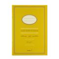 ノート<A5> カラー 黄色