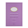 ノート<A5> カラー 紫