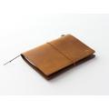 トラベラーズノート パスポートサイズ キャメル(15194006)