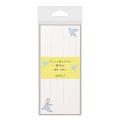 付せん紙 ひとこと<L> 青い鳥柄(19042006)