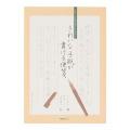 きれいな手紙が書ける便箋(太罫)
