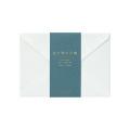 封筒<洋2> 色を贈る 青(20570006)