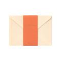 封筒<洋2> 色を贈る 茶(20572006)