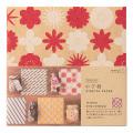 のび紙〈15角〉 花柄 ピンク (23376006)
