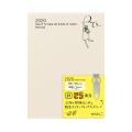 【2020年版】ポケットダイアリー<A6> バーチカル オジサン柄(27803006)