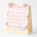 【2020年版】カレンダー 卓上リング<S> カントリータイム 花柄(30014006)