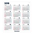 【2018年版】イノベーター カレンダーポスター(30113006)