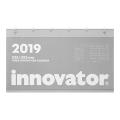 【2019年版】イノベーター カレンダー壁掛 3ヶ月(30599006)