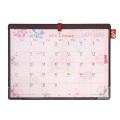 【2018年版】デスクカレンダー<A4> カントリータイム 花柄(30876006)