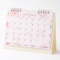 【2019年版】カレンダー 卓上リング<M> カントリータイム 花柄(30894006)
