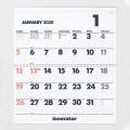 【2020年版】イノベーター カレンダー壁掛<L>(30915006)