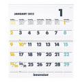 【2022年版】イノベーター カレンダー壁掛<L>(30923006)