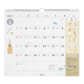 【2021年版】壁掛カレンダー<L> ネコ柄(31015006)