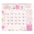 【2021年版】壁掛カレンダー<L> カントリータイム 花柄(31017006)