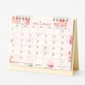 【2022年版】カレンダー 卓上リング<M> カントリータイム 花柄(31201006)
