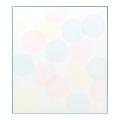 カラー色紙 水玉(B) (33124006)