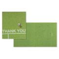 カラー色紙 二つ折り サッカー場柄 (33167006)