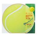 カラー色紙 丸形 テニスボール柄(33193006)