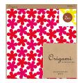 【Origami】オリガミ 2色アソート<15角> 花柄 赤・黄