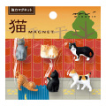 ミニマグネット 6個入 猫柄A (49870006)