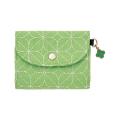 カードケース クローバー柄 黄緑(57445006)