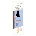 しおりシール 刺繍 黒猫柄(82464006)