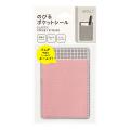 ポケットシール のびる ピンク×格子(82488006)