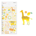 手帳シール カラー 黄色柄(82559006)