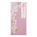 封筒 多目的 シルク しだれ桜柄(85396006)