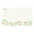 カード<名刺サイズ> てのひら 実柄 (85631006)